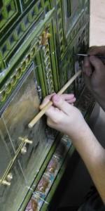 reparera en kakelugn